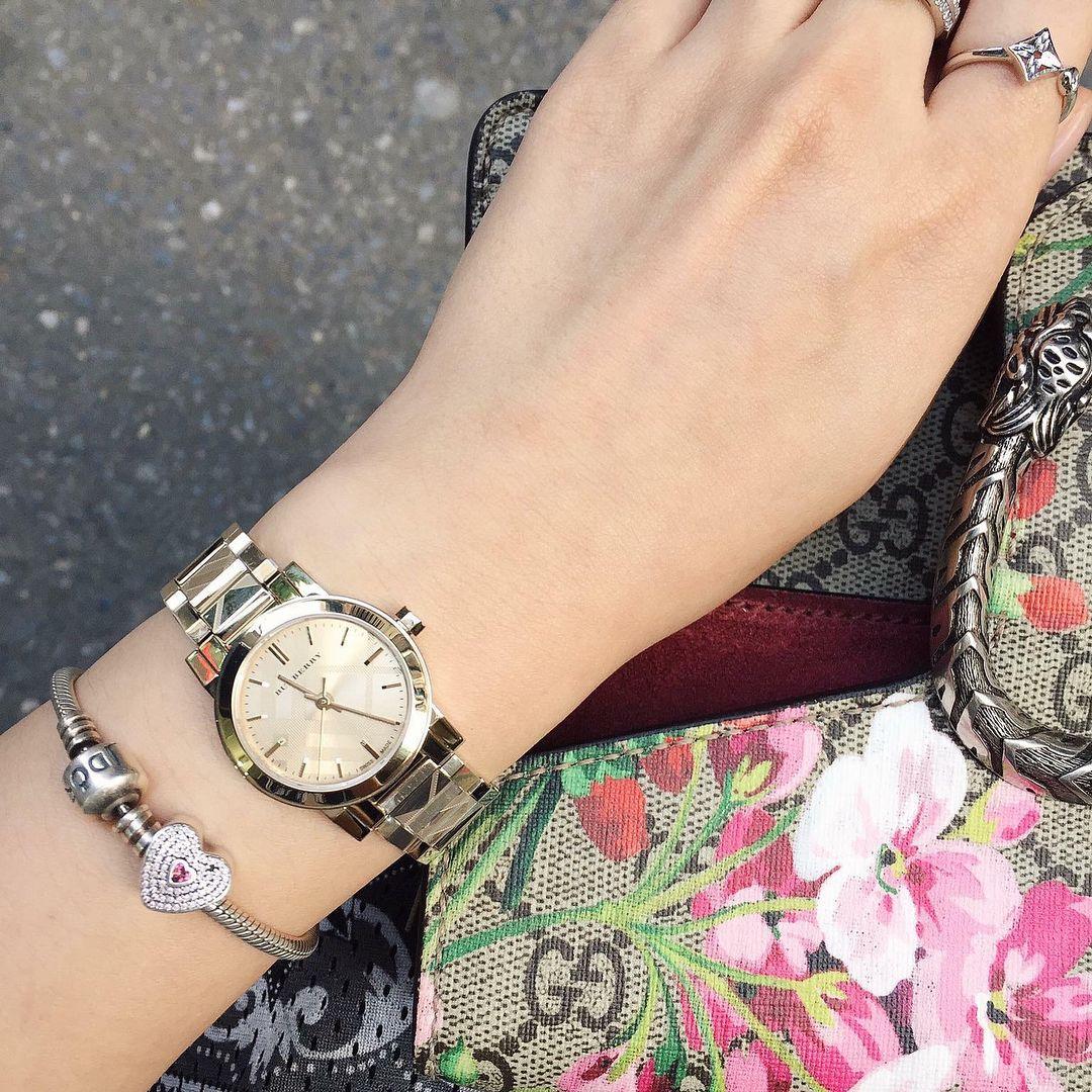 Đồng hồ Burberry nữ BU9234 Gold Tone, case 26mm 2