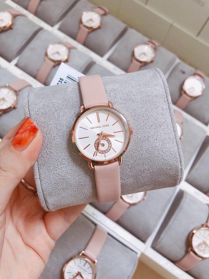 Đồng hồ Michael Kors MK2735 màu hồng xinh xắn cho nữ 5