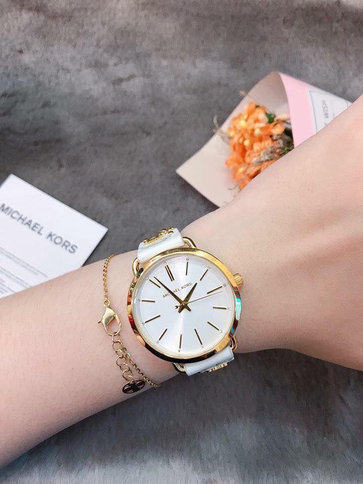 Đồng hồ Michael Kors Portia MK2737 dây da cho nữ 4