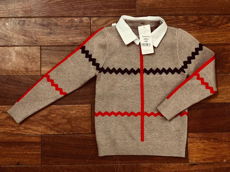 Áo len lông cừu cực mềm cho bé 3