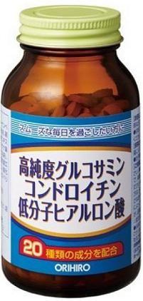 Viên bổ xương khớp Glucosamine Chondroitin Hyaluronic Acid Orihiro 2