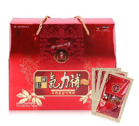Nước hồng sâm Korean Red Ginseng Giryockbo dạng túi 1