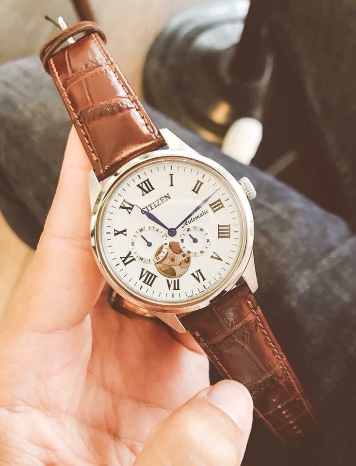 Đồng hồ Citizen NP1020-15A kính sapphire cho nam 1
