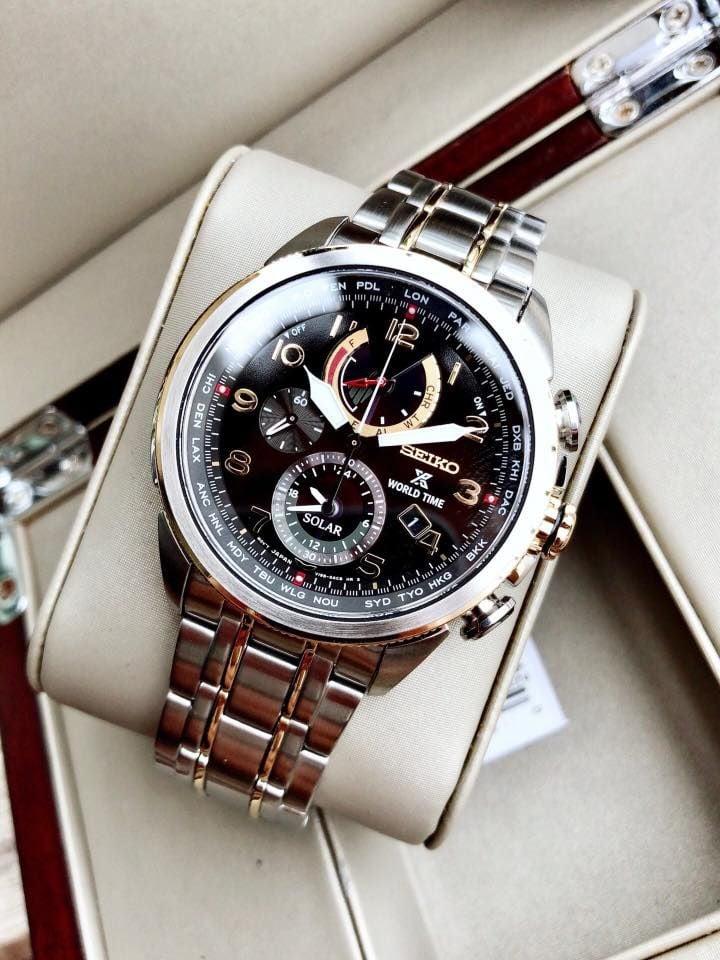 Đồng hồ Seiko Prospex Solar SSC508 kính Sapphire 2