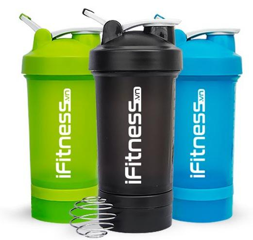 Bình lắc iFitness Pro Shaker 4 in 1 cao cấp 1