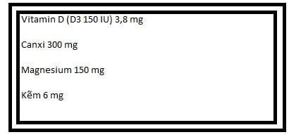 Canxi Osteocare original dạng nước của Anh 200ml  2