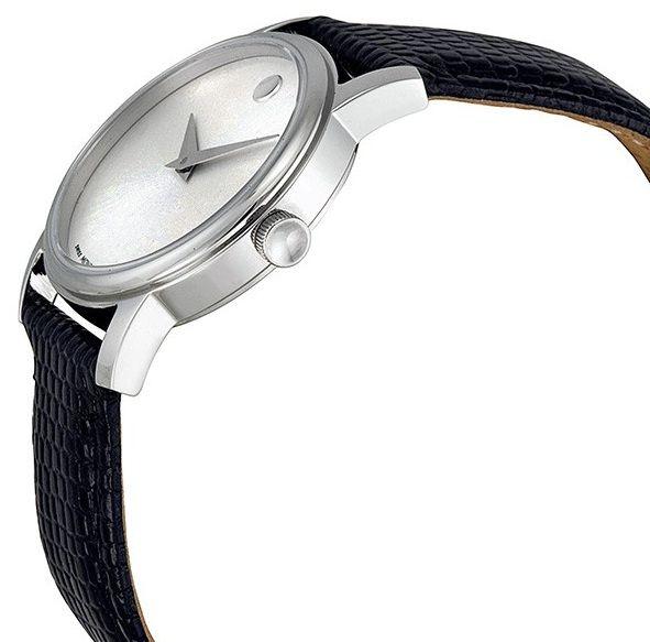 Đồng hồ đôi Movado 2100001 - 2100003 dây da 3