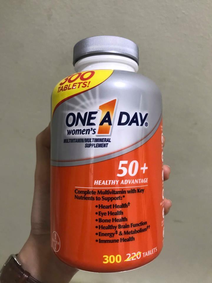 Vitamin tổng hợp One A Day For Women 50+ 1