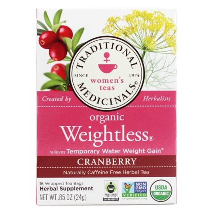 Trà thảo mộc Organic Weightless Cranberry hỗ trợ giảm cân 1