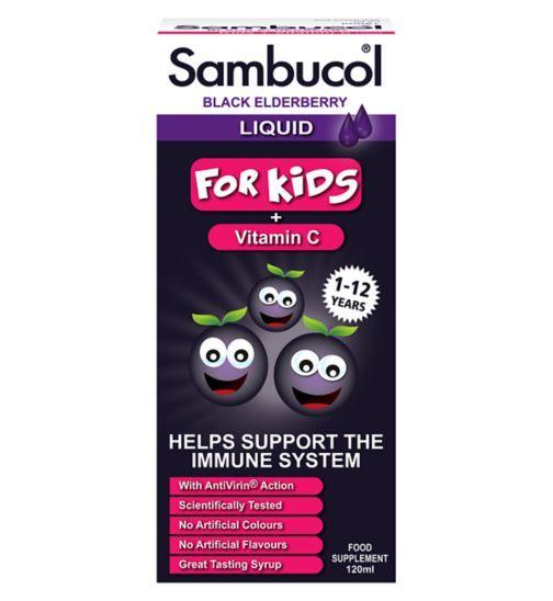 Siro Sambucol - Siro Của Anh Cho Bé Từ 1 - 12 Tuổi