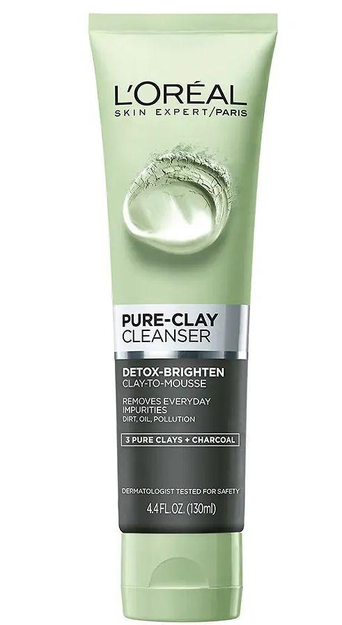Sữa Rửa Mặt đất sét Loreal Pure-Clay Cleanser 1