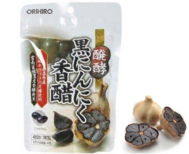Tỏi đen Nhật Bản Orihiro Nhật Bản chính hãng hộp 180 viên 1