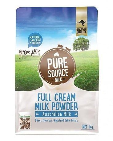 Sữa Bột Nguyên Kem Pure Source Milk 1kg 1