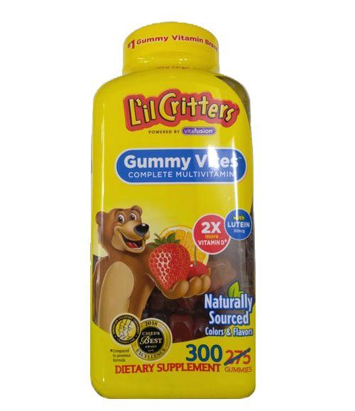 Kẹo dẻo Lil Critter Gummie Vite cho trẻ từ 2 - 4 tuổi 1