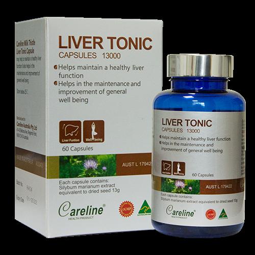 Viên uống hỗ trợ chức năng gan Liver Tonic Capsule chính hãng của Úc 1