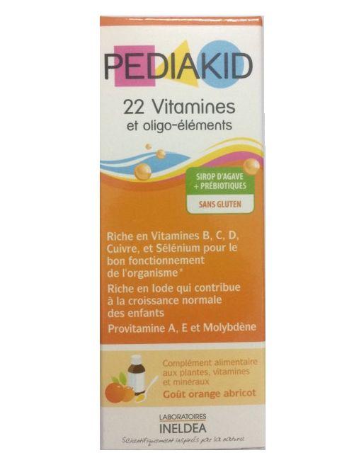 Pediakid 22 Vitamines của Pháp cho trẻ từ 6 tháng trở lên 2