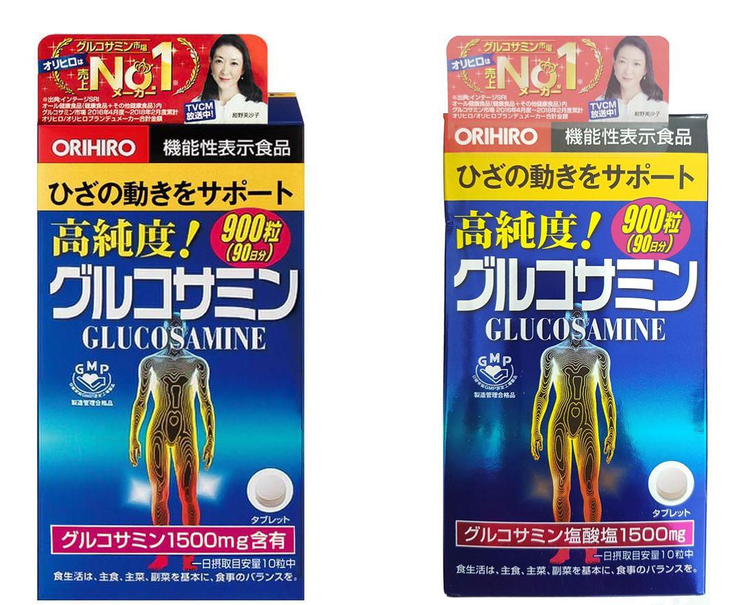 Viên Uống Glucosamine Orihiro 1500mg Của Nhật