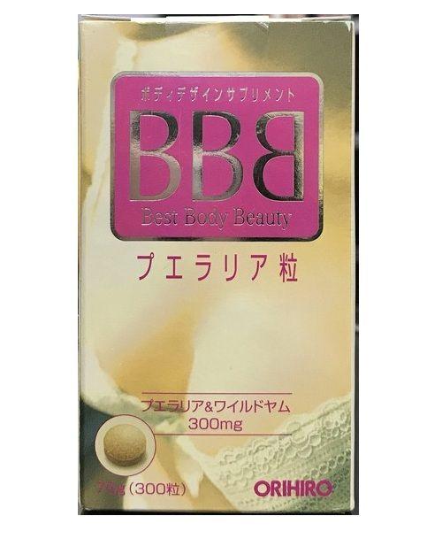 Viên uống BBB Orihiro chính hãng Nhật Bản 300 viên 3
