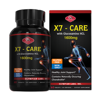 X7 Care With Glucosamine HCL 1500mg - Hỗ trợ xương khớp 1