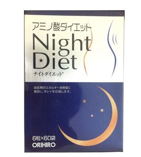 Viên uống ban đêm Night Diet Orihiro Hỗ trợ cải thiện cân nặng 2