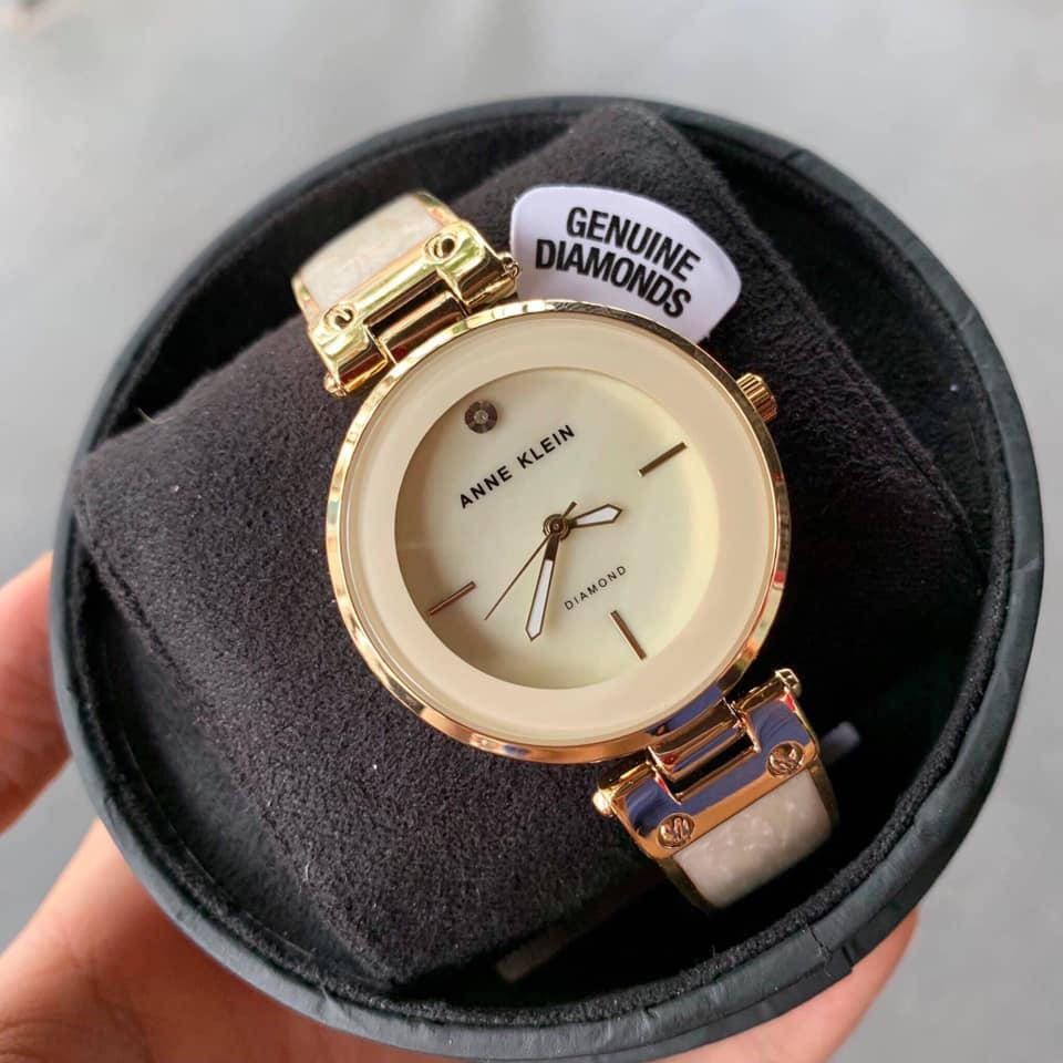 Đồng hồ Anne Klein AK/2512IVGB Mother of Pearl Dial 3