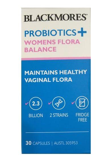 Men vi sinh Blackmores Probiotics+ Womens Flora Balance 1