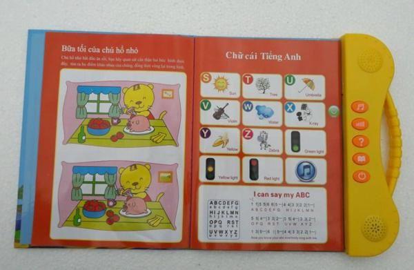 Sách Điện Tử Song Ngữ Anh Việt Cho Trẻ Từ 2 - 7 Tuổi 6