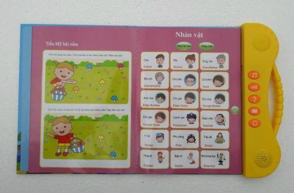 Sách Điện Tử Song Ngữ Anh Việt Cho Trẻ Từ 2 - 7 Tuổi 9