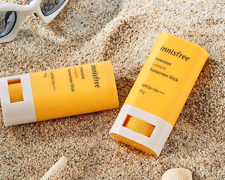 Kem chống nắng Innisfree dạng thỏi Intensive Leisure SPF50 2