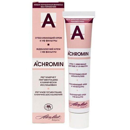 Kem trị nám Achromin làm mờ hiệu quả nám, tàn nhang