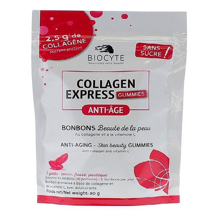 Kẹo Collagen Express Biocyte không đường của Pháp 1