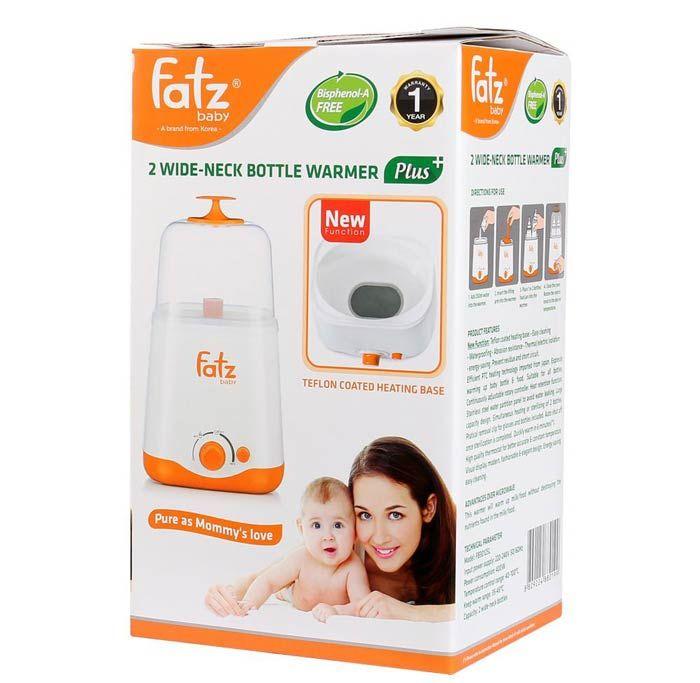 Máy hút sữa fatzbaby 2 bình tiệt trùng đa năng Fb3011sl