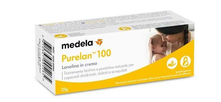 kem nứt cổ gà Medela Purelan chính hãng