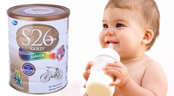 Cách pha sữa S26 số 4 đúng chuẩn