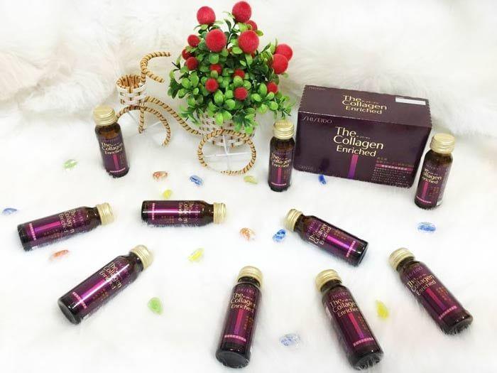 Thông tin Collagen Shiseido Enriched dạng nước