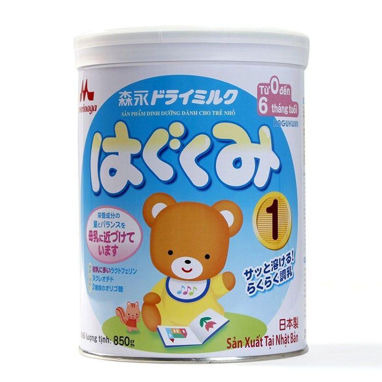 Sữa Morinaga Số 1 850g (dành Cho Trẻ 0 - 6 Tháng Tuổi)
