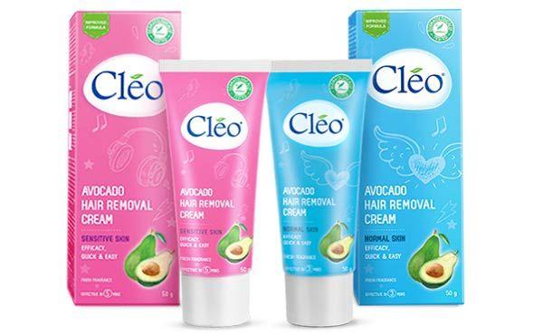 Cách tẩy lông bằng kem tẩy lông Cleo