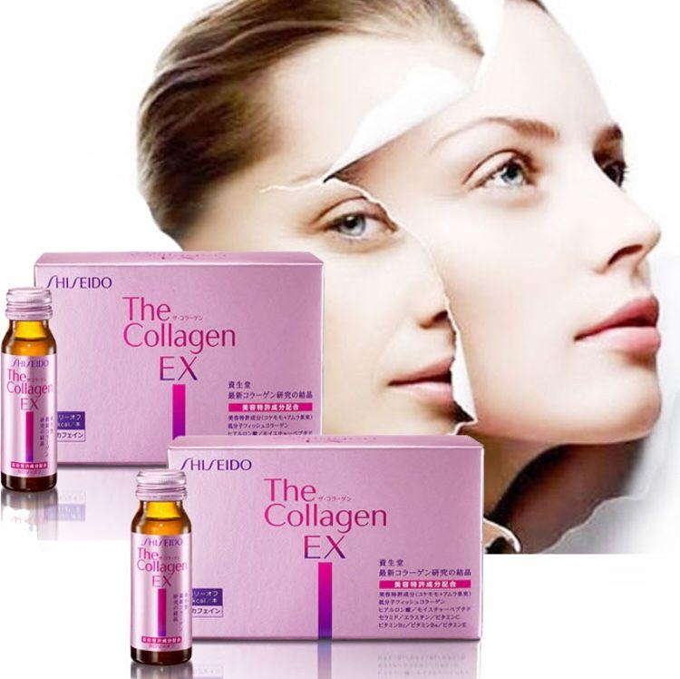 Nước uống đẹp da The Collagen Shiseido EX dạng nước