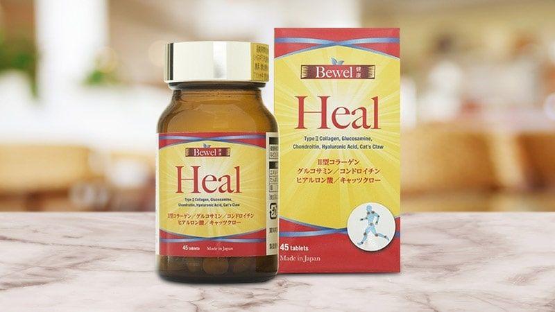 Viên Uống Hỗ Trợ Sức Khỏe Sụn Khớp Bewel Heal Waki Của Nhật