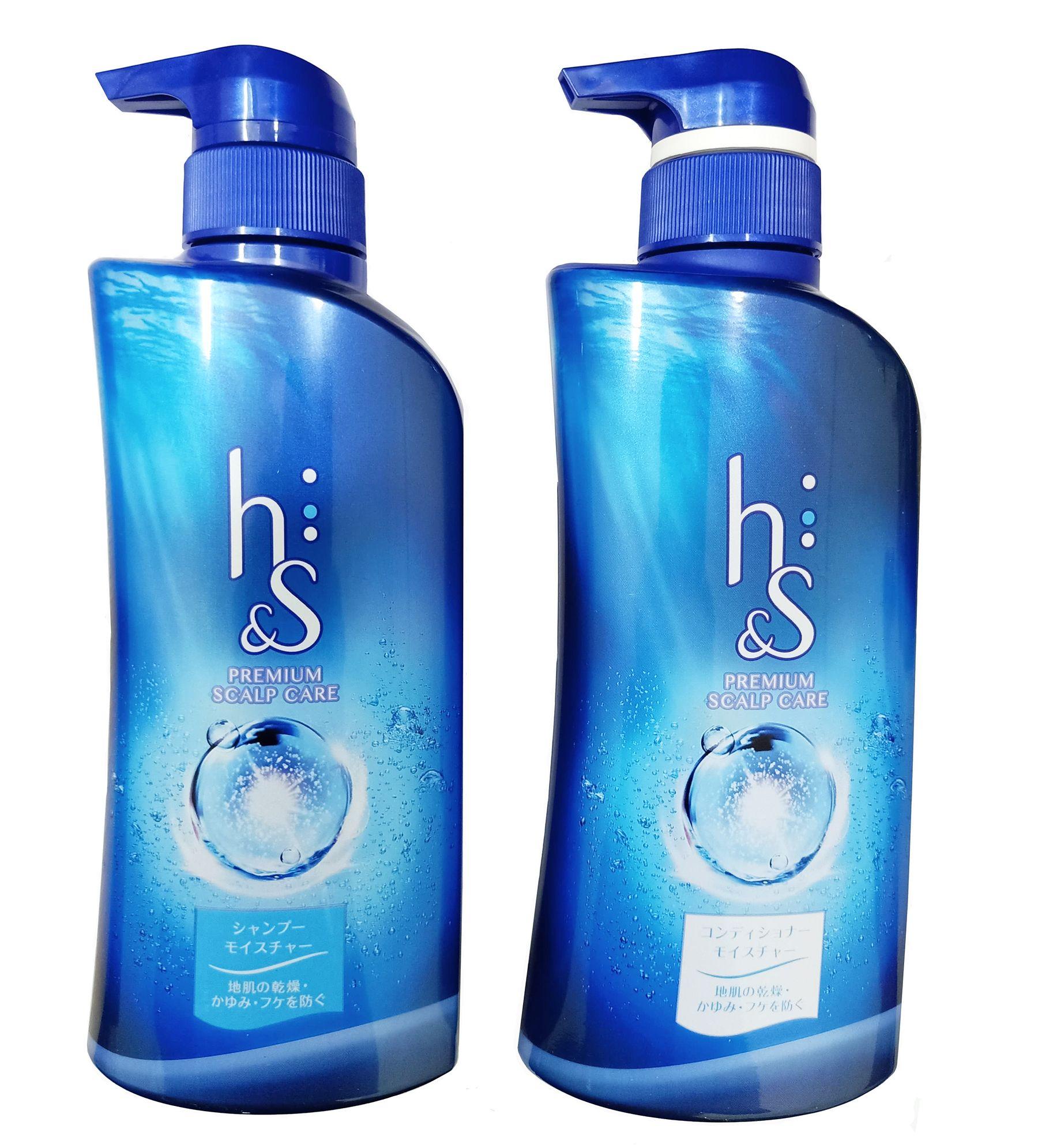 Bộ dầu gội H&S xanh biển trị gàu cho tóc hư tổn