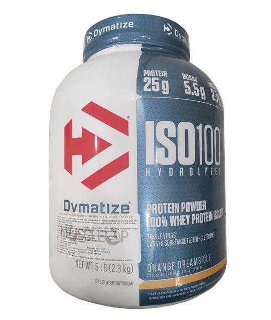 Iso 100 Whey Protein Dymatize 5Lbs phục hồi cơ bắp