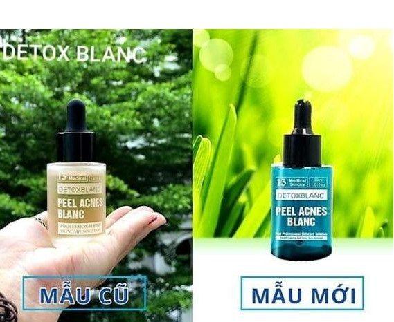 Serum giảm mụn Detox Blanc Pell hỗ trợ da mụn hiệu quả