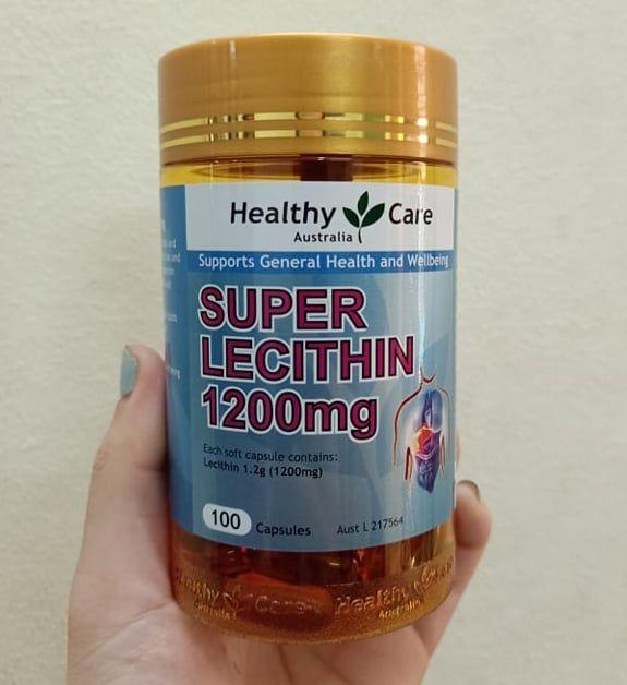 Mầm Đậu Nành Lecithin Healthy Care 1200mg Tốt Cho Sức Khỏe