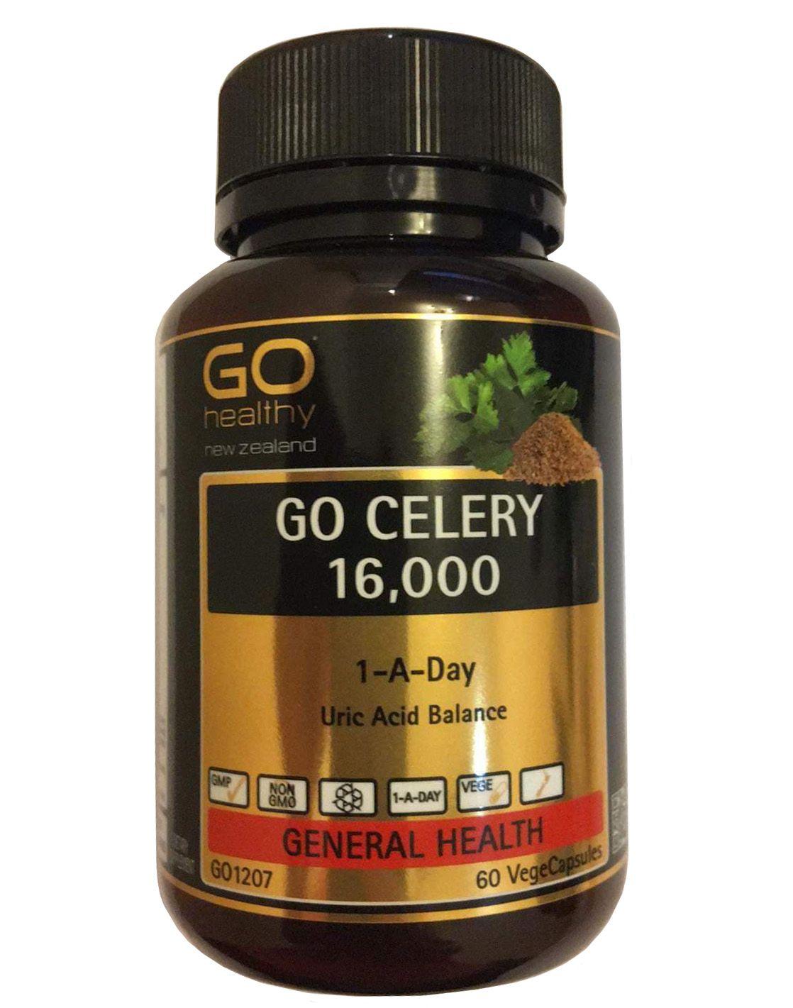 Viên Uống Go Celery 16000 Chính Hãng Của New Zealand
