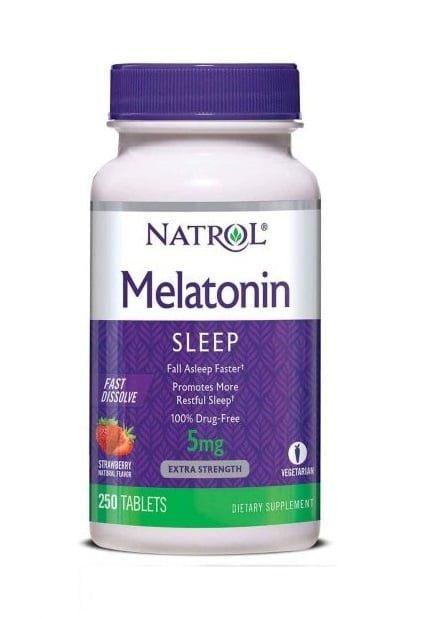 Viên Ngậm Natrol Sleep 5mg Giúp Ngủ Ngon