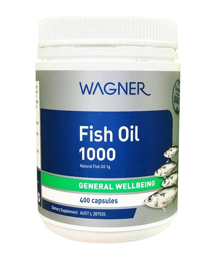 Viên Uống Wagner Fish Oil 1000 Dầu Cá Của Úc