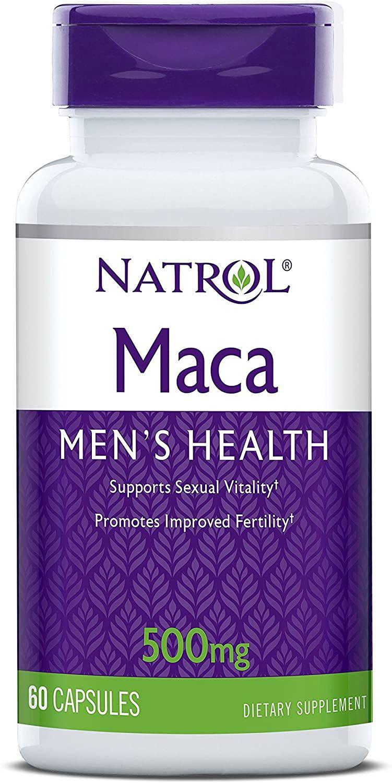 Viên Uống Hỗ Trợ Sinh Lý Nam Natrol Maca Men's Health 500mg