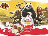 Quả Trứng Đồ Chơi Socola Kinder Kungfu Panda
