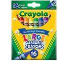 Bút Sáp Màu Tẩy Rửa Được Crayola 16 Màu Loại Lớn