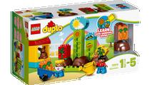 Đồ Chơi Xếp Hình Lego Duplo 10819 - Khu Vườn Đầu Tiên Của Bé